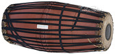 MAHARAJA MUSICALS Mridangam, Strap-tuned, Traditional, Jackfruit Wood, South Indian Drum - No. 421