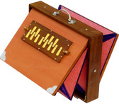 MAHARAJA MUSICALS Concert Big Shruti Box, Natural Color - No. 237 (With Bag)