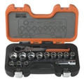 Bahco 14 piece Go Through Rachet Socket Set S140T