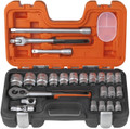 "Bahco - 24 piece 1/2"" socket set"