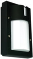 Oriel Ludo Mini Black Outdoor Wall Light IP65 E27 Premium Powdercoated SG70523BK
