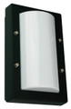 Oriel Senza Mini Black Outdoor Wall Light IP65 E27 Premium Powdercoated SG70521BK