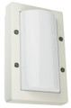 Oriel Senza Mini White Outdoor Wall Light IP65 E27 Premium Powdercoated SG70521WH