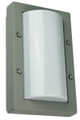 Oriel Senza Mini Silver Outdoor Wall Light IP65 E27 Premium Powdercoated SG70521SIL