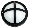 Oriel Solo Black Outdoor Wall Light IP65 E27 Premium Powdercoated SG70550BK
