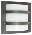 Oriel Largo Graphite Outdoor Wall Light IP65 E27 Premium Powdercoated SG70560GP