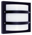 Oriel Largo Black Outdoor Wall Light IP65 E27 Premium Powdercoated SG70560BK