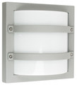 Oriel Largo Silver Outdoor Wall Light IP65 E27 Premium Powdercoated SG70560SIL