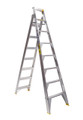 Bailey Dual Purpose Ladder Aluminium 150kg 2.4-4.4m Professional DP8 FS13397