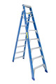 Bailey Dual Purpose Ladder Fibreglass 120kg 2.4-4.4m Industrial RFDP8 FS10482