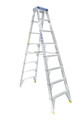 Bailey Step Ladder Double Sided Aluminium 150kg 2.4m Professional FS13389