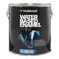 Taubmans Water Based Enamel Trim 4L Gloss White Enamel Paint