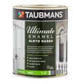 Taubmans Ultimate Enamel 1L White Semi Gloss Alkyd Based Enamel