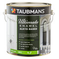 Taubmans Ultimate Enamel 4L White Semi Gloss Alkyd Based Enamel