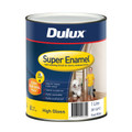 Dulux Super Enamel 1L High Gloss Vivid White Enamel Paint
