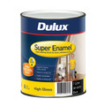 Dulux Super Enamel 1L High Gloss Black Enamel Paint