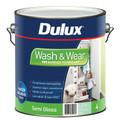 Dulux Wash & Wear 101 4L Semi Gloss Deep Base Interior Paint