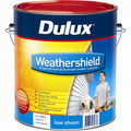 Dulux Weathershield 4L Black Base Low Sheen Exterior Paint