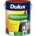 Dulux Weathershield 10L Vivid White Matt Exterior Paint