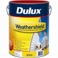 Dulux Weathershield 10L Vivid White Gloss Exterior Paint