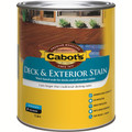 Cabots 1L New Jarrah Water Based Deck & Exterior Timber Stain