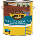 Cabots 4L October Brown Water Based Deck & Exterior Timber Stain