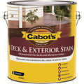 Cabots Deck & Exterior Stain 4L October Brown Oil Based Timber Stain