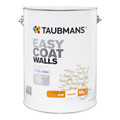 Taubmans Easy Coat 10L Flat Black Interior Paint