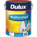 Dulux Weathershield 10L  Extra Bright Base Low Sheen Exterior Paint