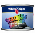 White Knight Strokes 100ml Gloss Royal Blue