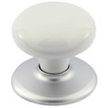 Door Knob Classic Metal Whitehall Bc Rose 1305WHIBC