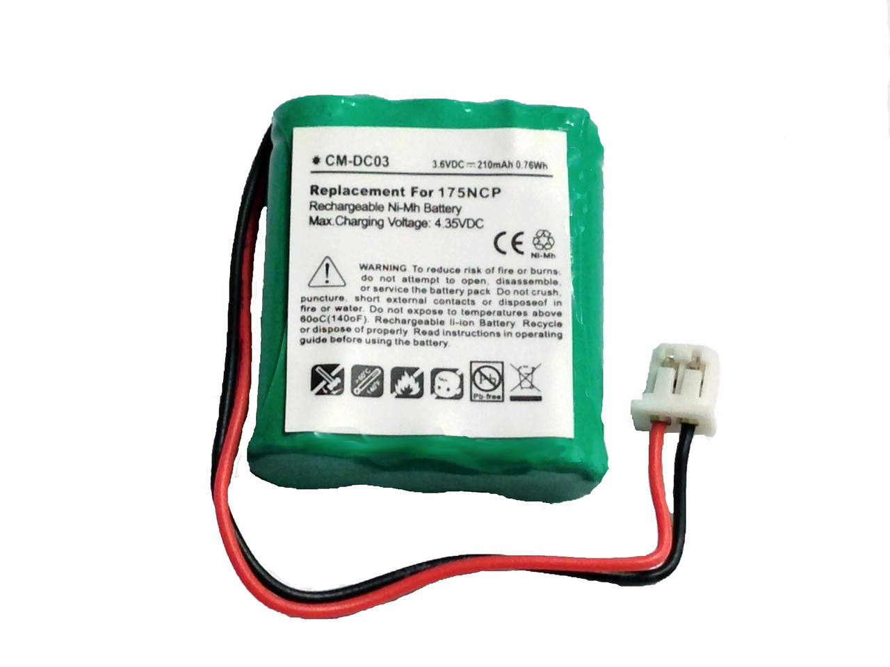 BP74T2 AE602248P6H Battery for Dogtra 2300NCP 2302NCP Advance Collar Transmitter