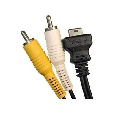 EMC-3A A/V AV Audio Video Cable for Casio Elixim Digital Cameras