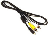 EG-CP14 AV Audio Video RCA Cable Cord for Nikon Coolpix Cameras