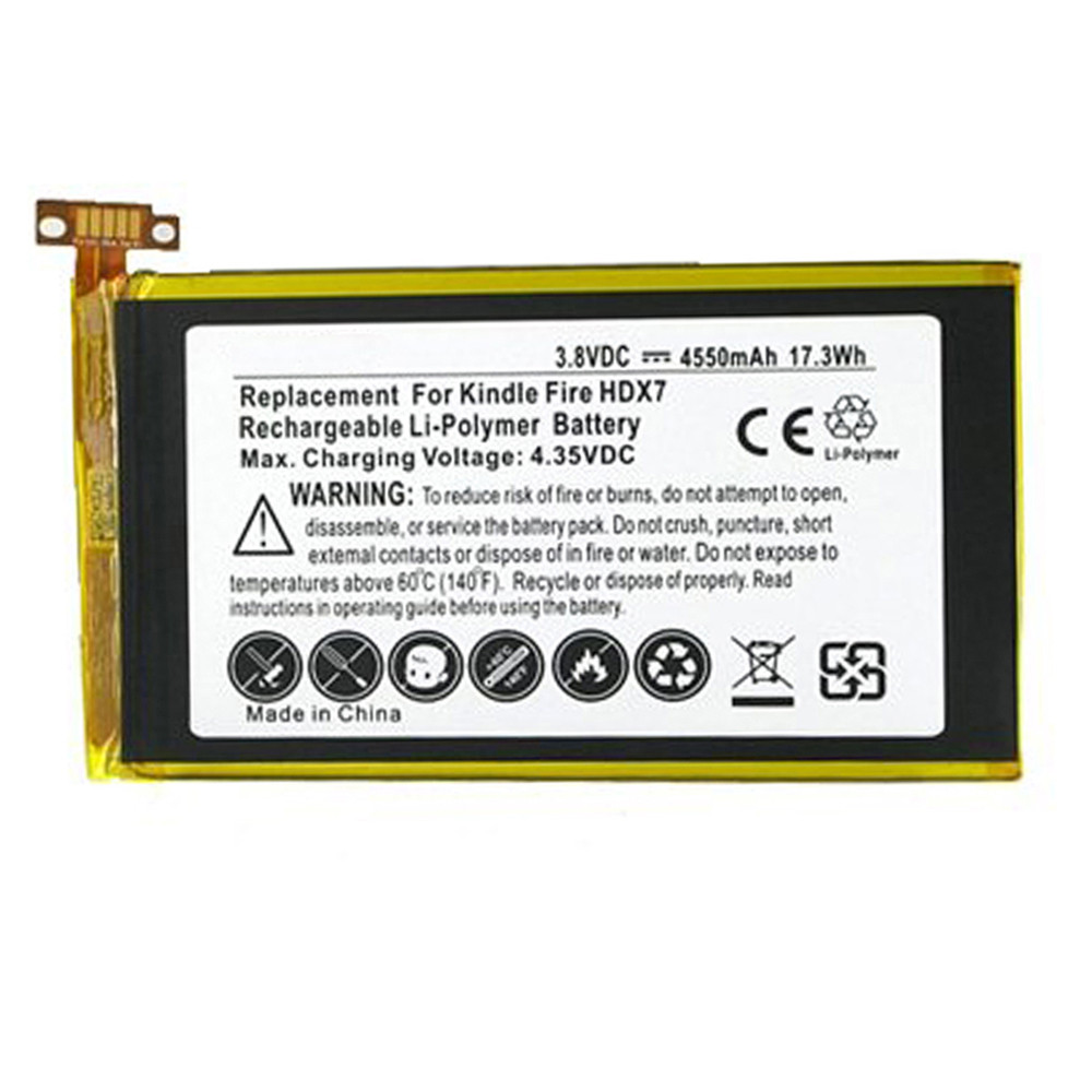 40 40 S40 T40 S S40 T40 Battery for Amazon Kindle Fire HDX 40