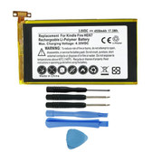 "58-000043 S12-T1-S S12-T1 Battery for Amazon Kindle Fire HDX 7"" C9R6QM"