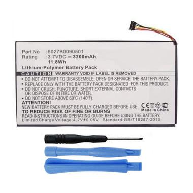 Battery for Barnes Noble Nook Color Tablet BNTV250 BNTV250A BNRV200