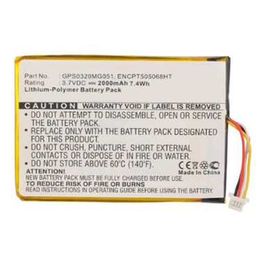 GPS0320MG051 Battery for Skygolf SkyCaddie SGXw SGX GPS Range Finder