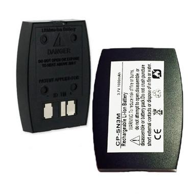 1000mAh BAT1060 Battery for 3M C1060 XT-1 Wireless Intercom Headset