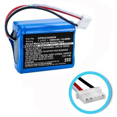 GPRHC202N026 Battery for iRobot Mint 5200 5200C Floor Cleaner 4409709