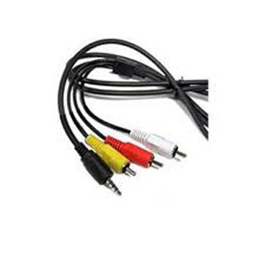 3066A002 STV-250 STV-250N AV RCA Cable for Canon Cameras & Camcorders
