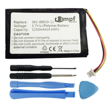 Garmin Nuvi 200 205 250 252 255 255W 260 265 270 Battery 361-00019-11