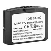 BA300 BA 300 Rechargeable Battery for Sennheiser TV Headphones IR RF
