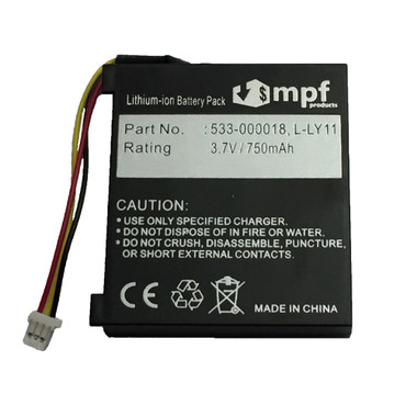 Logitech G930 Battery Replacement L-LY11 553-000018 Headset 750mAh