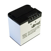 010-12256-01 361-00080-00 Battery for Garmin VIRB X Compact VIRB XE