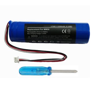 NTA2335 Battery for Logitech mm50 Portable Speaker System for iPod