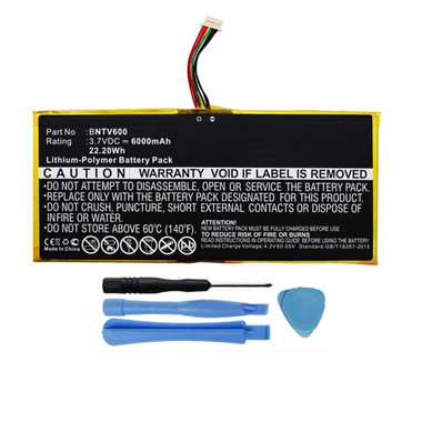 "GB-S02-308594-0100 Battery for Barnes & Noble NOOK HD+ Plus 9"" BNTV600"