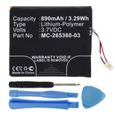"MC-265360-03 58-000083 Battery for Amazon Kindle 7 6"" WP63GW 7th Gen"