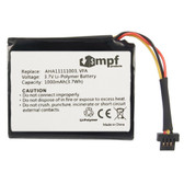 AHA11111003 VFA Battery for TomTom Start 60 60M VIA 1605 1605M 1605TM