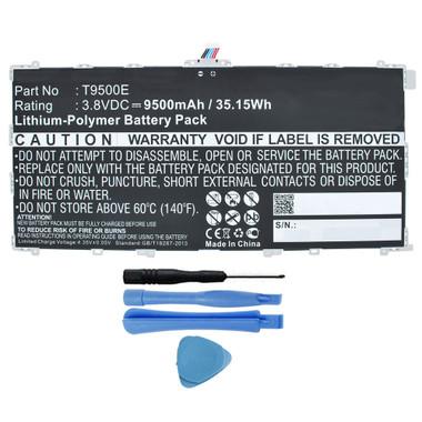 9500mAh T9500E Battery for Samsung Galaxy Tab Pro 12.2 SM-T900 SM-T905